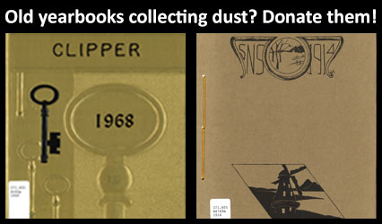 Old yearbooks collecting dust? Donate them!