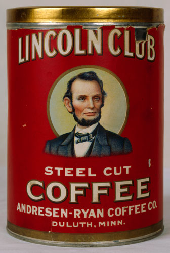 Lincoln Coffee Can