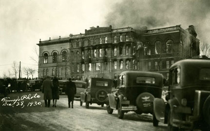 State Capitol Fire 1930