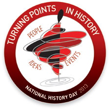 Turning Points in History: Events, People, Ideas Logo