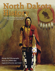 north dakota history vol. 72, numbers 3 and 4