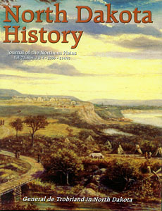 north dakota history vol. 73, no.s 3 and 4