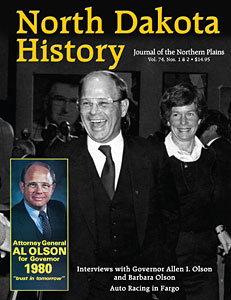 north dakota history olson issue