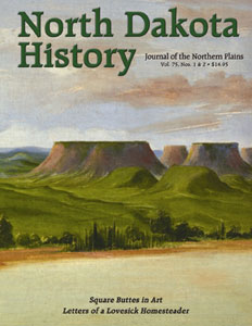 North Dakota History Square Buttes cover