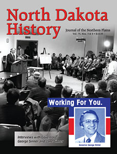 North Dakota History George Sinner cover