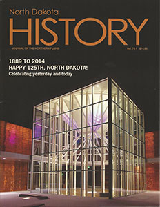 Volume 79.1 North Dakota History