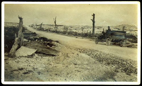 desolation of France during WWI