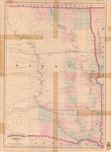 Asher & Adams Map