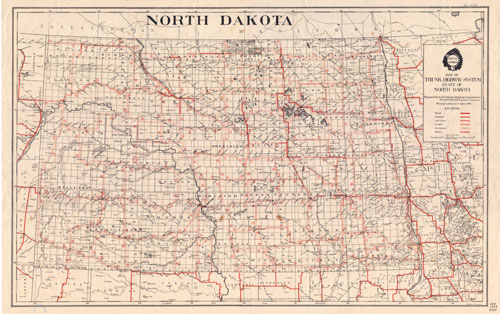 Trunk Highway Map Set Mapping The Land Its People Unit - North dakota map