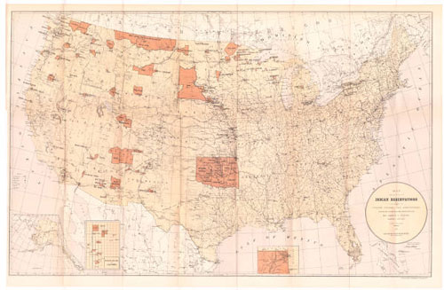 US Indian Reservation Map