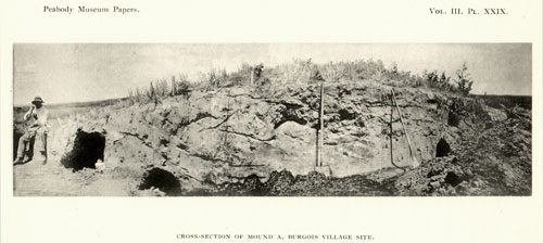 Mound B Excavation 1905