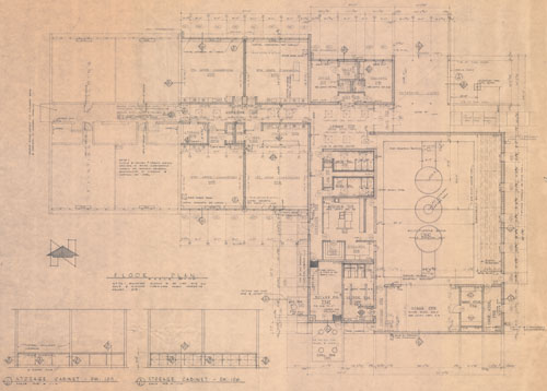 Fortuna School Addition Blueprint