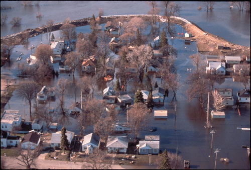 Grand Forks Flood Aerial 1
