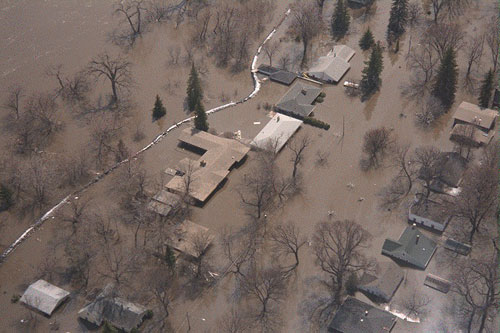 Grand Forks Flood Aerial 2