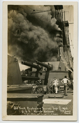 Fire on the USS ND
