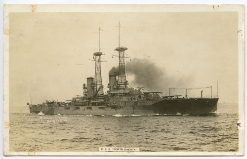 USS ND postcard